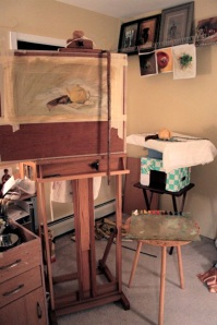 New Studio Easel