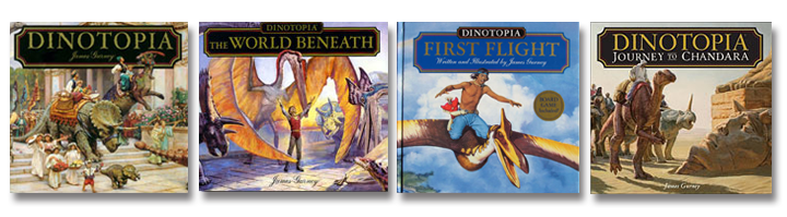 Dinotopia Books ©James Gurney