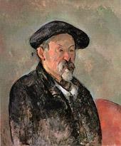 Cezanne Wearing a Beret