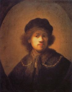 Rembrandt in a Beret