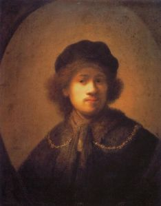 Rembrandt in a Beret