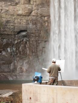 Taughannock Falls-10-2