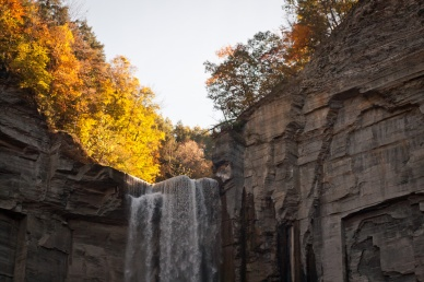 Taughannock Falls autumn photography