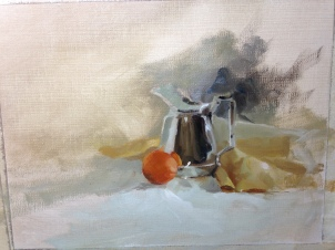 Establishing some more background before finishing the pitcher.