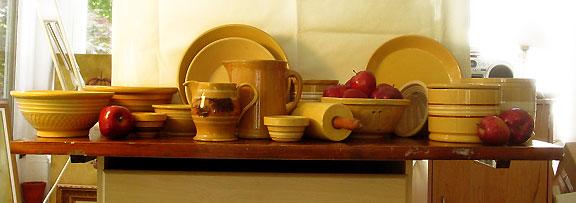 Yellowware ©Rebecca Finch
