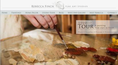 Rebecca Finch Studio Tour