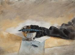 """Grief's Intrusion"" 12x16 oil • $750"